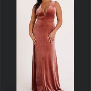 Jenny Yoo English Rose Logan Gown, Size 12
